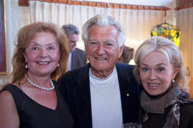 Aniela, Hon.Bob Hawke, Former Prime Minister of Australia, Blanche D'Alpuget - 24 March 2012
