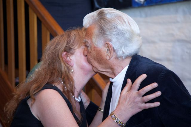 Hon.Bob Hawke, the Former Prime Minister of Australia & Aniela - 24 March 2012