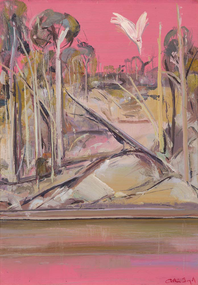 ARTHUR BOYD (1920-1999) Shoalhaven at Sunset c1976-78 oil on copper, 60.5 x 43.0 cm signed lower right: Arthur Boyd