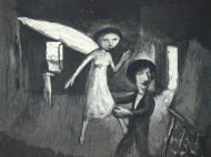 Garry Shead 'Goya 1' Etching, Price: SOLD