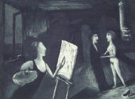 Garry Shead 'Goya 2' Etching Price: SOLD