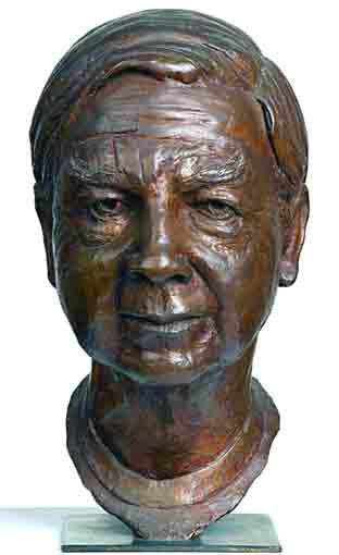 Click to Enlarge: Guy Boyd, Portrait of brother (Arthur Boyd) Bronze, SOLD