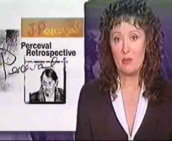 CLICK Video: John Perceval - ABC TV National News in Galeria Aniela